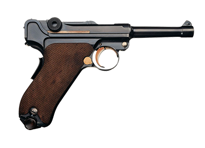 Pistolet d'ordonnance (Parabellum)