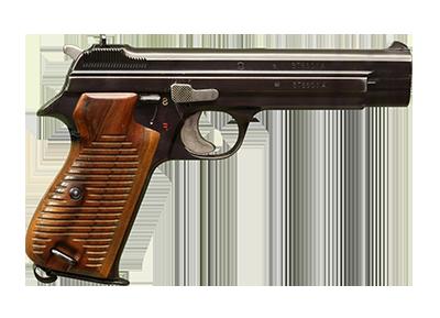Pistolet d'ordonnance (SIG P 210)