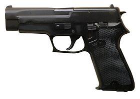 Pistolet d'ordonnance (SIG P 220)
